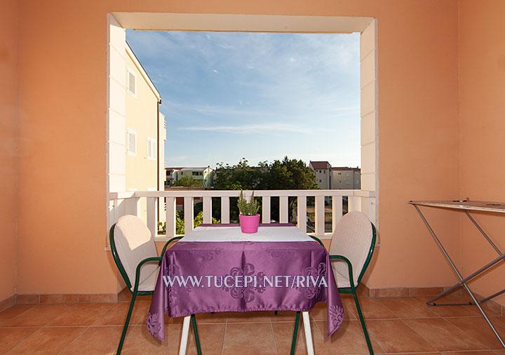 Tučepi, apartments Marija - large terrace