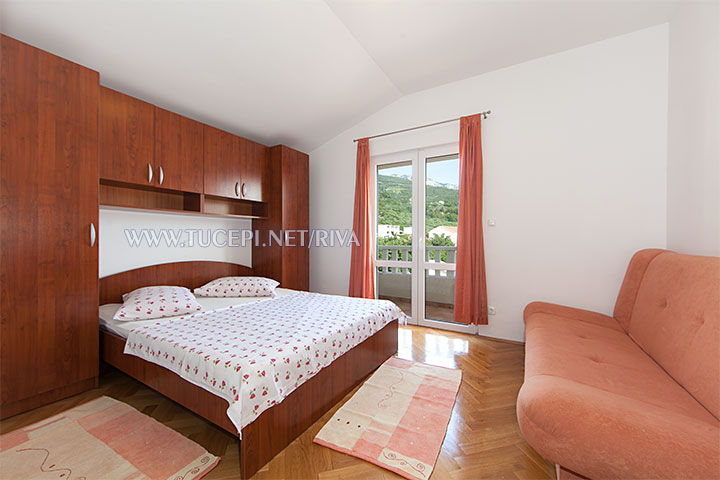 Tučepi, apartments Marija - first bedroom