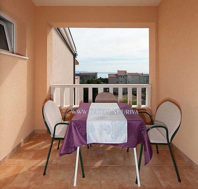 Tučepi, apartments Marija - veranda