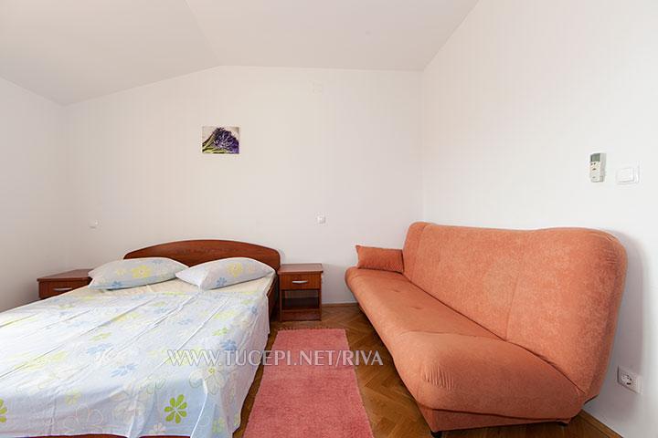 Tučepi, apartments Marija - bedroom