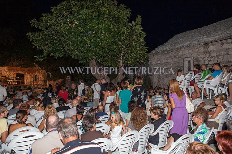 culture event in old village Čovići, Tučepi