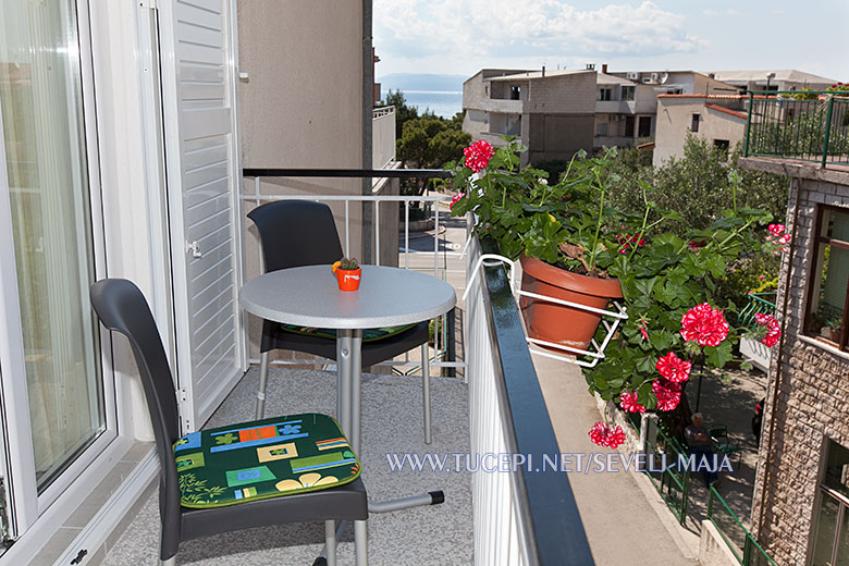 balcony - apartments Maja Ševelj, Tučepi