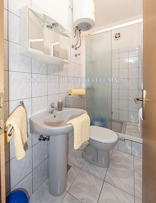 bathroom - apartments Maja Ševelj, Tučepi
