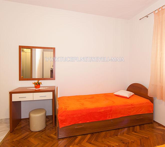 bedroom - apartments Maja Ševelj, Tučepi