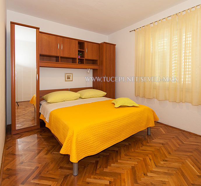 bedroom - apartments Maja Ševelj, Tučepi