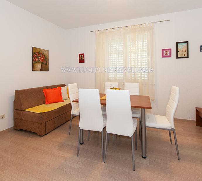 dining room - apartments Maja Ševelj, Tučepi