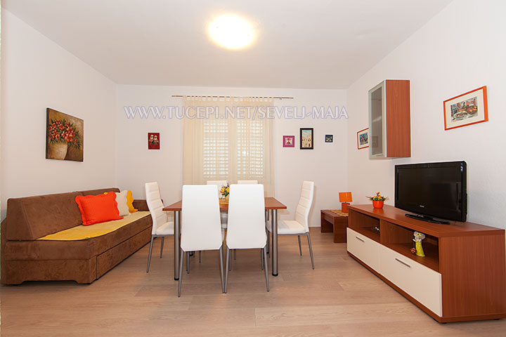 living room - apartments Maja Ševelj, Tučepi