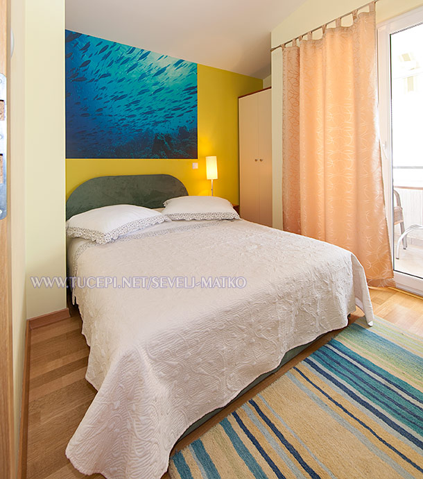 apartments Matko Ševelj, Tučepi - bedroom