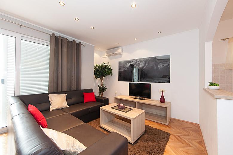 living room, apartment Matko Ševelj, Tučepi