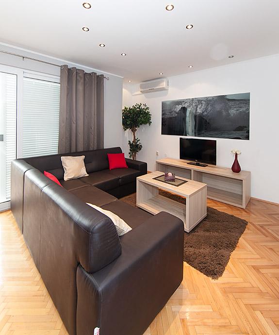 living room, apartments Ševelj, Tučepi