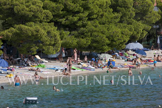 central beach in Tucepi
