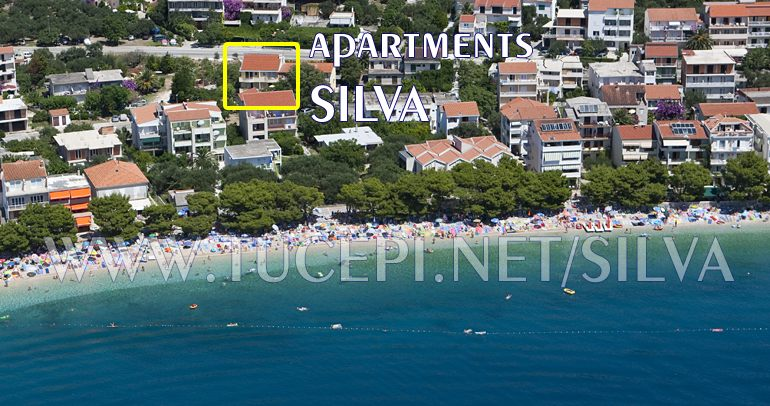 house Silva from air