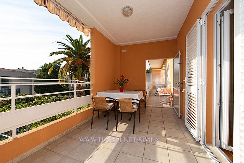 apartment Šimun Mijačika, Tučepi - terrace