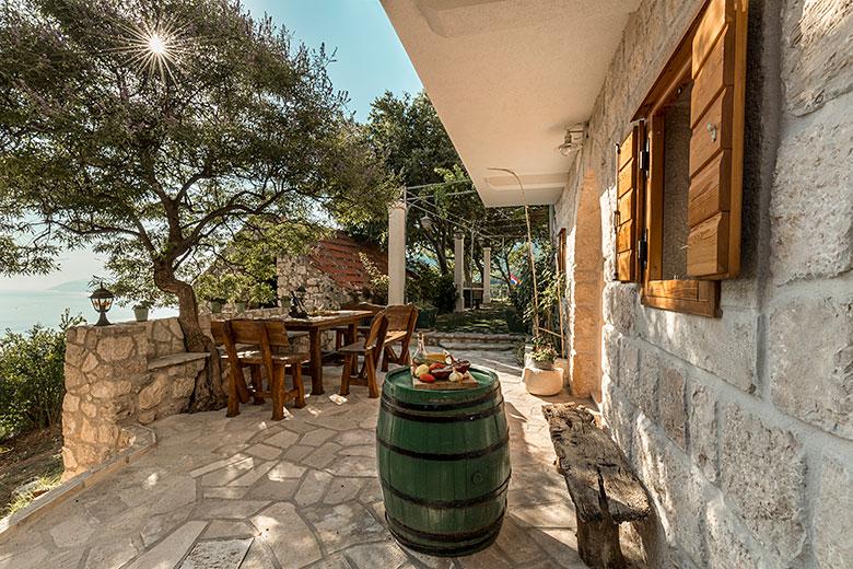 terrace - Villa Stina, Tučepi