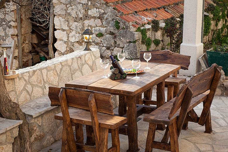 Villa Stina, Tučepi - outdoor furniture