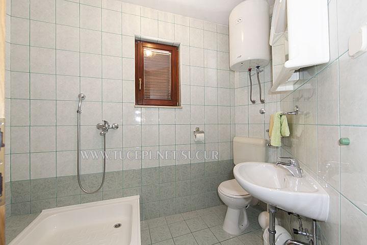 Tučepi, Appartement Šućur - Badezimmer
