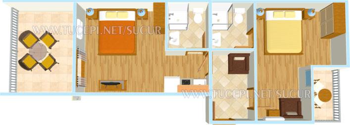 Wohnung Plan