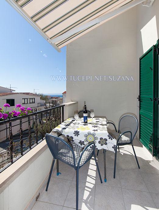 apartments Suzana, Tučepi - balcony