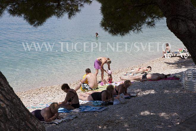 beach Kamena, Tučepi