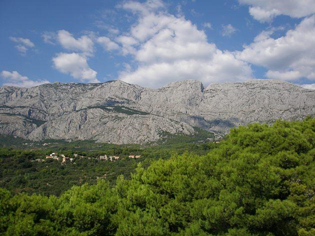mountain Biokovo
