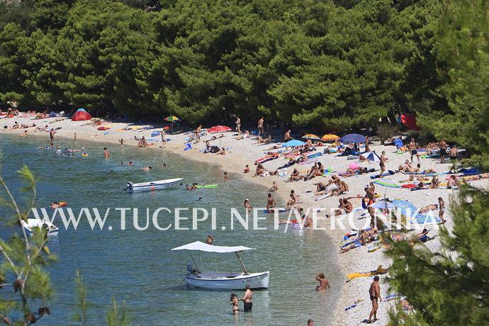 beach Dračevac, Tučepi