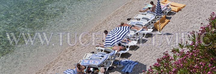 beach in Tučepi - hotewl Jadran
