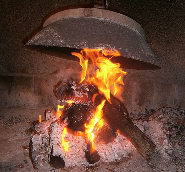 roštilj - vatra