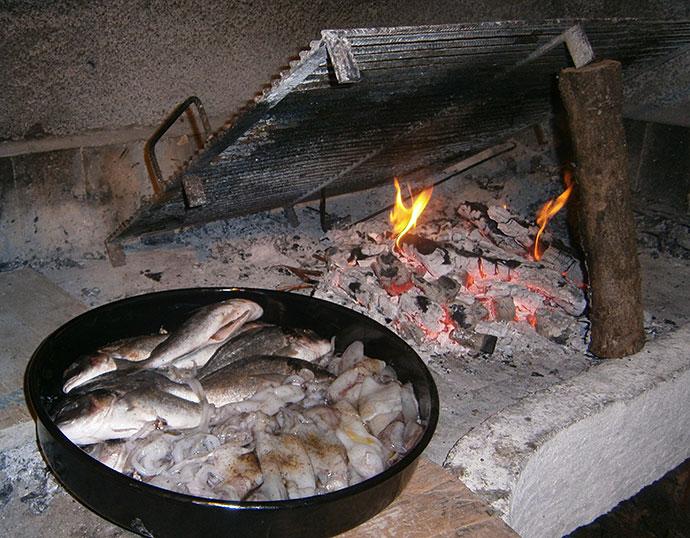 riba spremna za pečenje