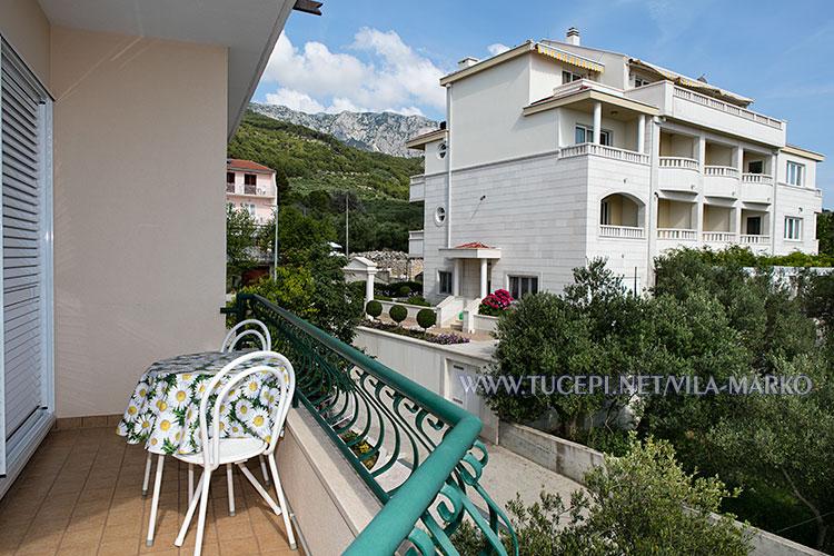 Apartments Vila Marko, Tučepi - balcony