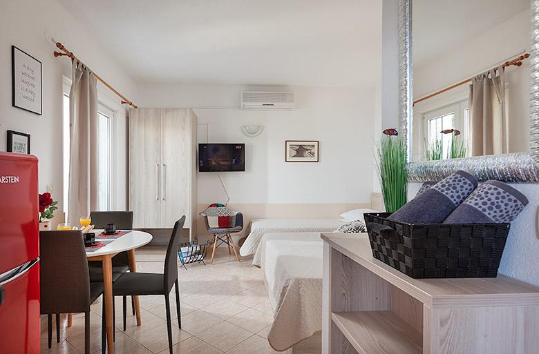 bedroom, Apartments Vila Nela, Tučepi