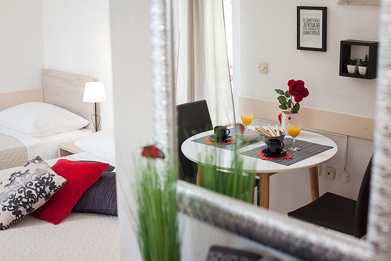 dining table, Apartments Vila Nela, Tučepi