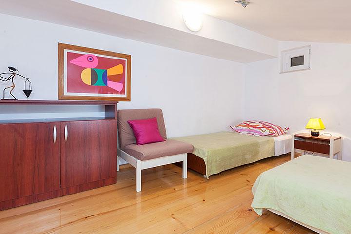 Villa Nela, Tučepi apartments - gallery bedroom