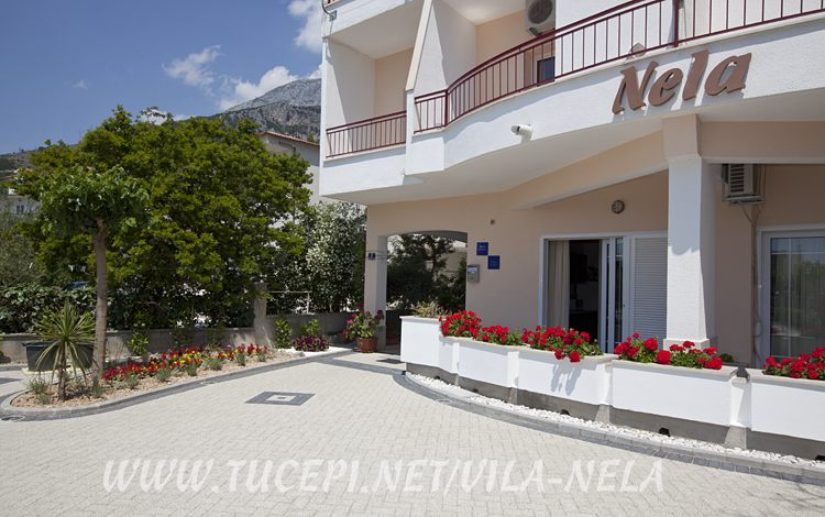 house detail, Vila Nela, Tučepi