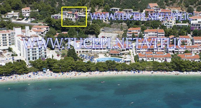 apartments Vitlić, Tučepi - position